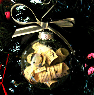 A Christmas Ornament for a Music Teacher