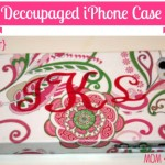 DIY iPhone Case w/ Mod Podge!