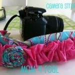 Camera Strap Cover {tutorial}