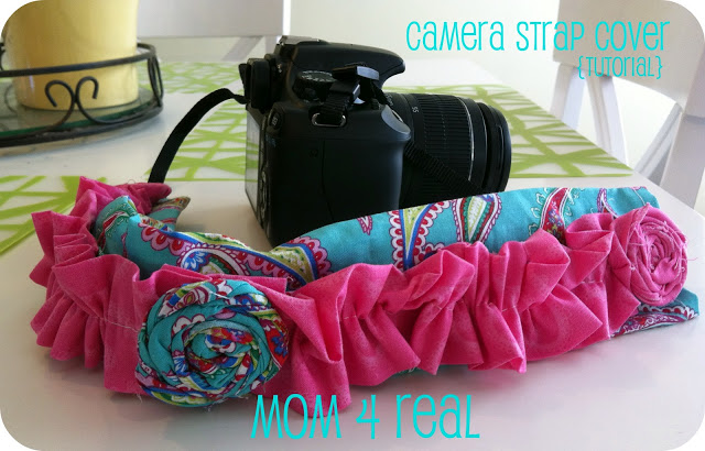 Camera Strap Cover {tutorial}