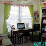 Updated Craft Nook {Spring}