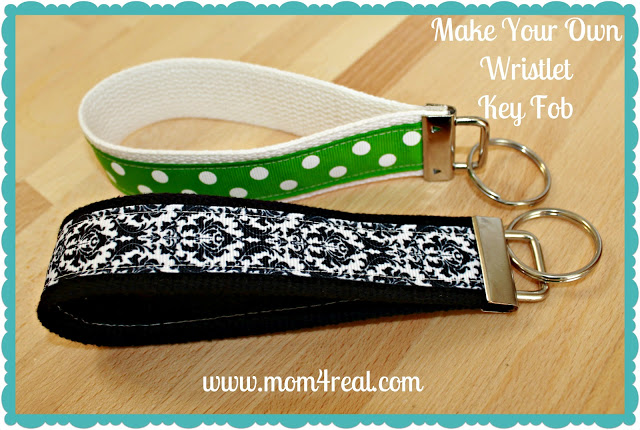 Make Your Own Wristlet Key Fob