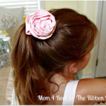 Ribbon Flower Clip