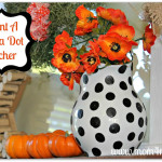 Paint A Polka Dot Pitcher