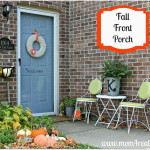 My Not So Fancy Fall Front Porch