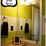 Frame Out Your Builder's Grade Mirror (Without Mitering)