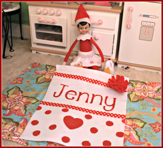 Elf On The Shelf Blanket ~ A Gift For Jenny
