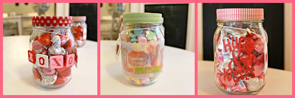 Mason Jar Valentines  14 Days of Crafting