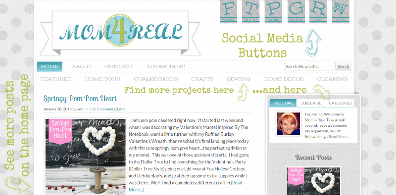 Come See My Brand New Blog Design!