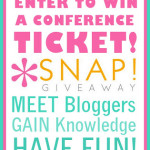 SNAP! Conference Ticket Giveaway!