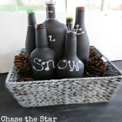 Let It Snow wine bottles1