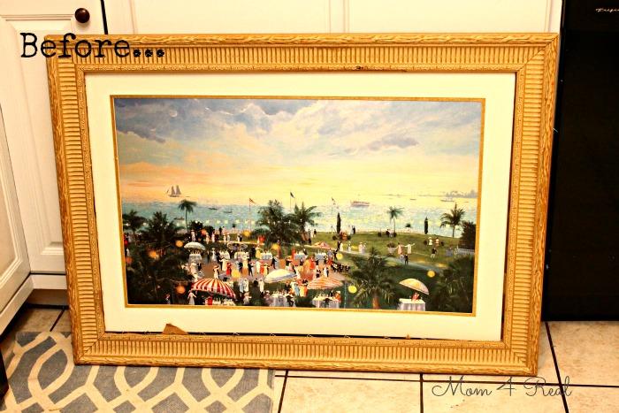 frame canvas painting janefargo