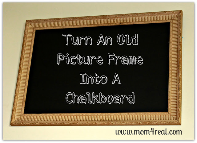 turnframeintochalkboard#mom4real