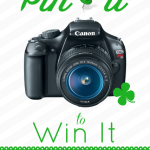 Win a Canon Rebel T3…Just Pin It To Win It!