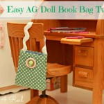 A Book Bag for an American Girl Doll