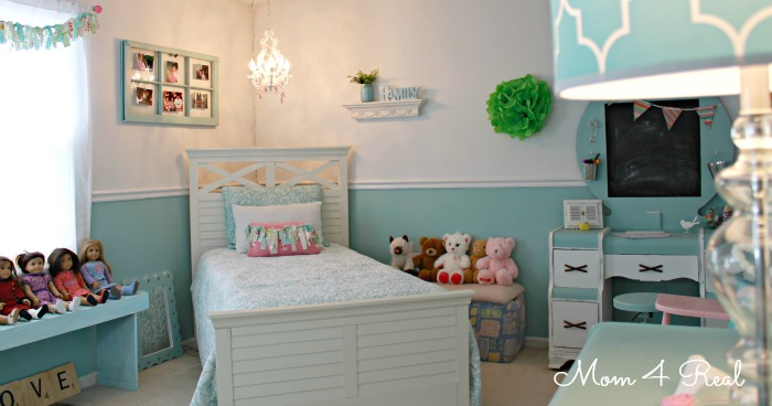 Decorating Ideas ~ Aqua Love - Mom 4 Real