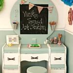 Roadside Vanity Turned Kid's Art Station