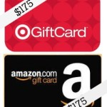 $175 Amazon Gift Card & $175 Target Gift Card Giveway