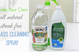 Homemade All Natural Window Cleaning Spray