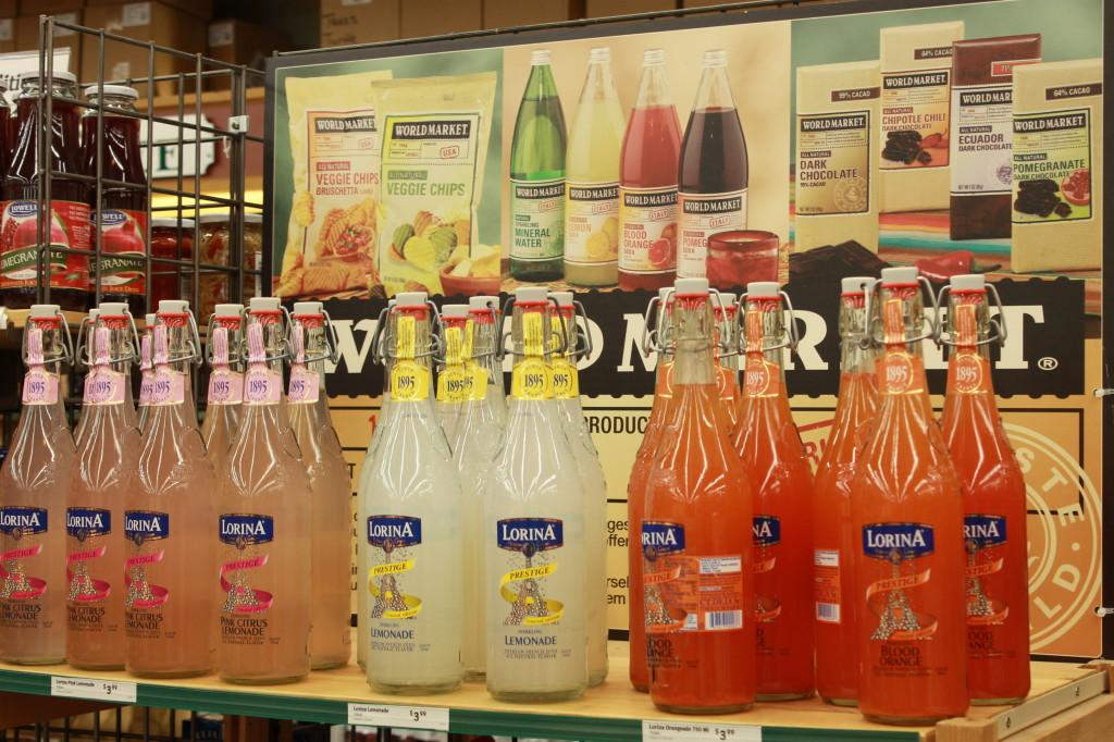 Cocktails at World Market