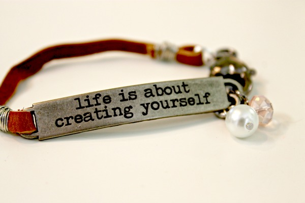 Life Is About Creating Yourself…and a Giveaway