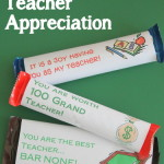 candy bar wrappers for teacher appreciation day