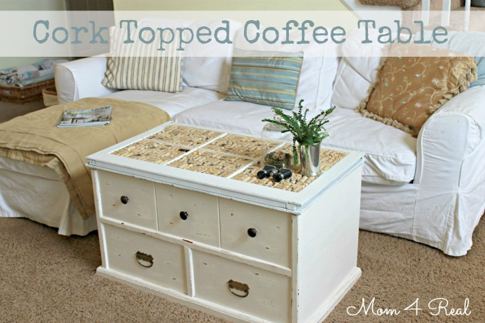 Wine Cork Topped Trunk At Www.mom4real.com