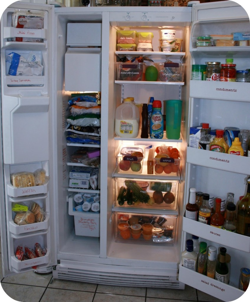 Organize Your Refrigerator at www.mom4real.com