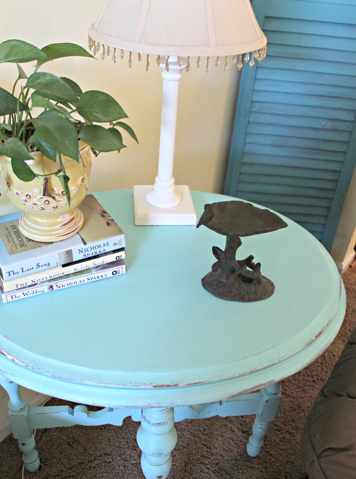 Maison Blanche Paint Collette Side Table 2