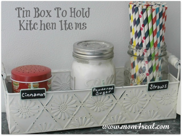 Store Items in Fun Containers at www.mom4real.com
