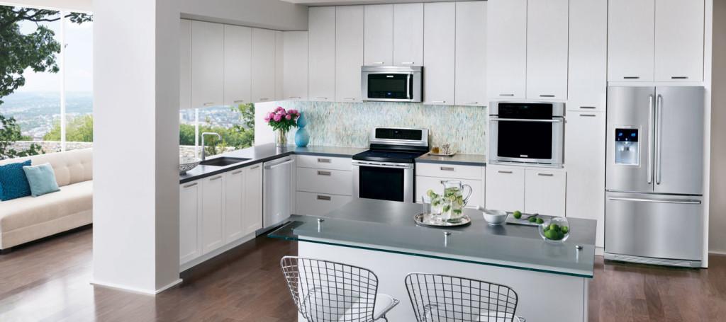 Fabulous kitchen with Electrolux Appliances.
