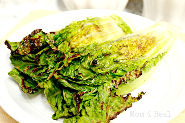 Grilled Romaine Salad Recipe Grilled romaine lettuce