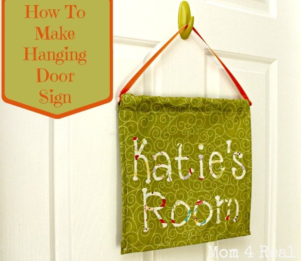 Make A Hanging Door Flag