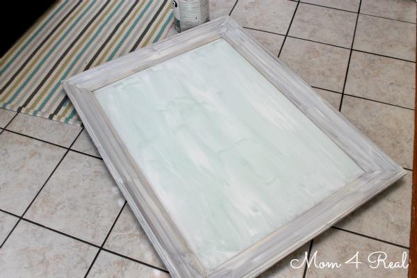 Turn A Mirror Into a Chalkboard