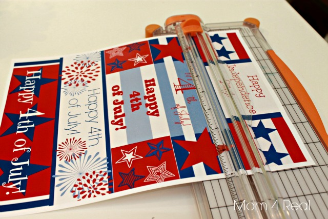 free printable water bottle labels for the 4th of july