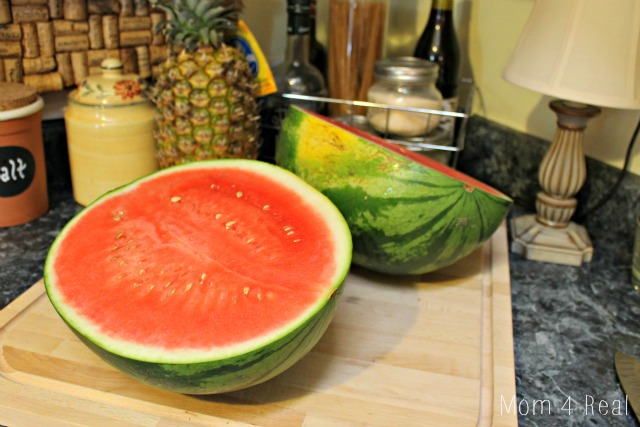 How To Cut A Watermelon Step 3