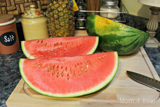 How To Cut A Watermelon Step 4