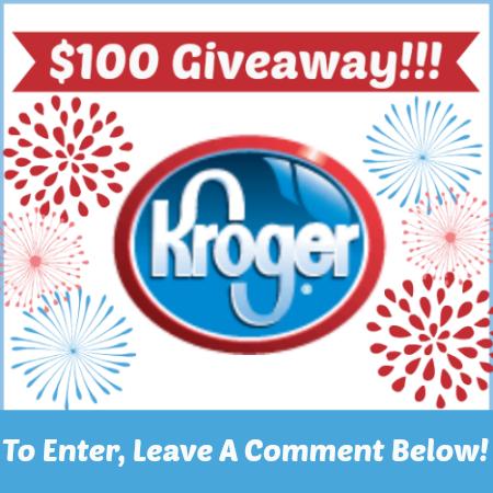 Kroger 100 Giveaway Comment