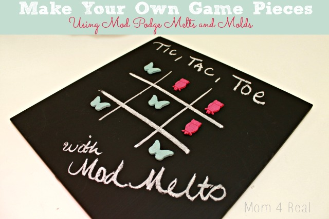 Make Your Own Game Piece Using Mod Podge Melts and Molds