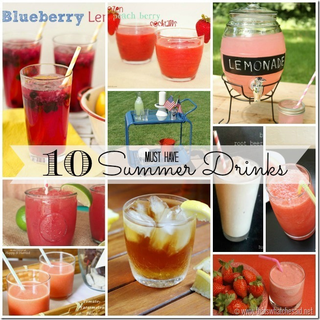 10 Fabulous Summer Drinks