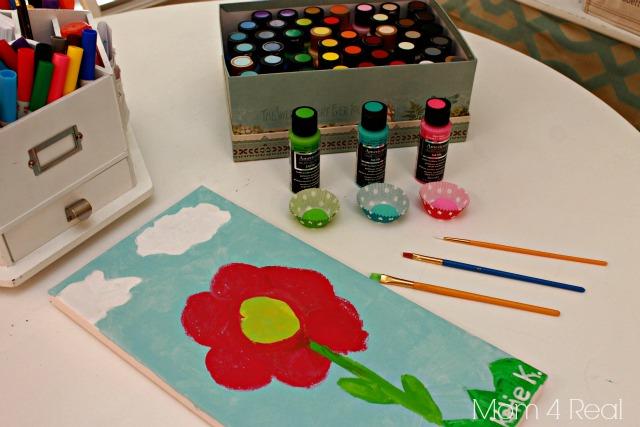 DecoArt Paints and Canvas