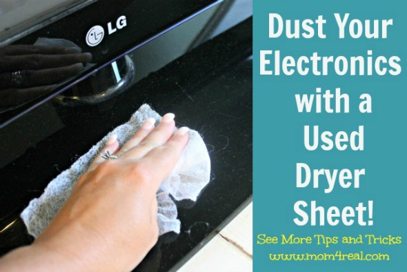 Dust Your Electronics With A Used Dryer Sheet Featured