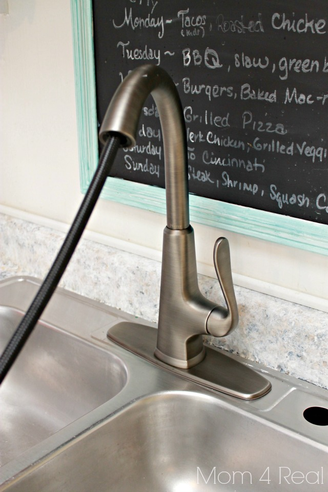 Installing a kitchen faucet step by step