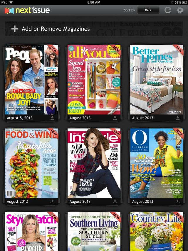 Next Issue Magazine App