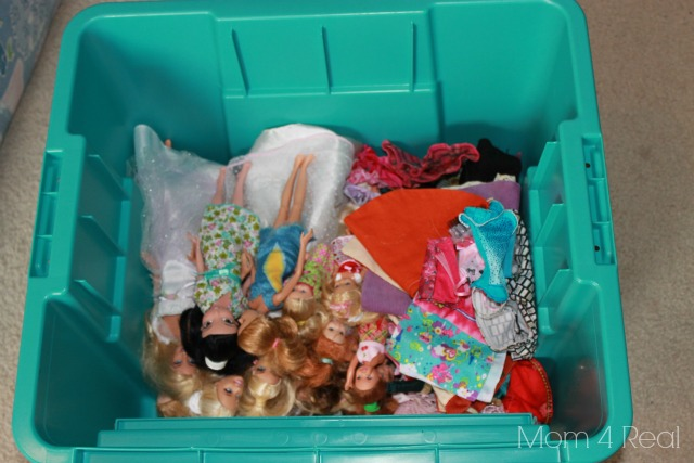 Organize Your Barbies