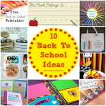 10 Awesome Back To School Ideas