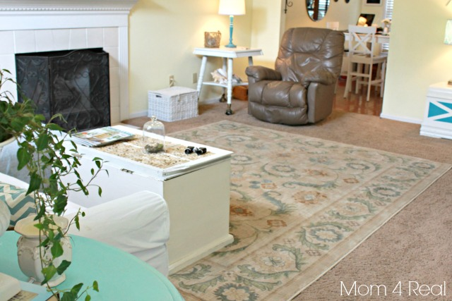 Use Area Rugs on Carpet to Spruce Up Your Space {Mohawk ...