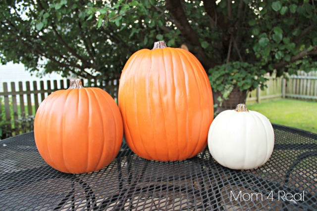 Foam Pumpkins From Michaels