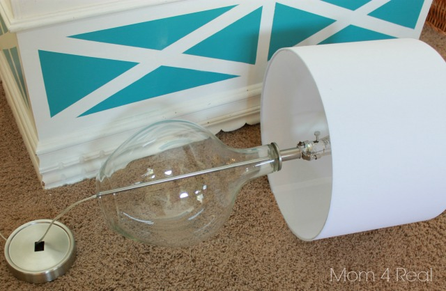 How to Fill a Glass Lamp