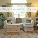 Use Area Rugs on Carpet to Spruce Up Your Space {Mohawk Giveaway}